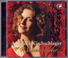 Angelika KIRCHSCHLAGER Signiert WEIHNACHTSLIEDER O Holy Night Stille Nacht CD