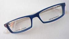 Emporio Armani 9404 Unisex Brille Fassung  Kunststoffblau Glasses Gr S Designer