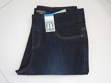 Katies Ultimate Fit Dark Denim Straight Leg Short Length Stretch Jeans Size 12