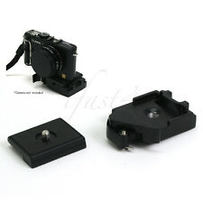 Camera Tripod Quick Release Plate Mount Adapter Clamp for DSLR DC Ballhead