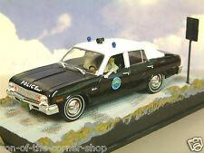 DIECAST 1/43 JAMES BOND 007 CHEVROLET NOVA SAN MONIQUE POLICE LIVE AND LET DIE
