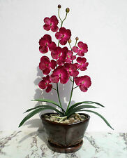 """23"""" Butterfly Orchid, Imitation Replica Real Touch Flower, Artificial Silk Plant"""
