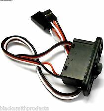8143 RC Electric Large On Off Switch w LED 3 Pin Futaba