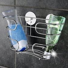 Wenko Shampoo Ablage Turbofix Edelstahl ohne Bohren Duschablage Duschregal