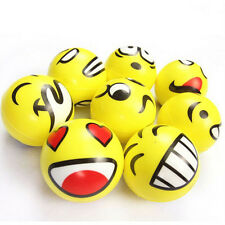 Smiley Face Anti Stress Reliever Ball ADHD Autism Mood Toy Squeeze Relief GTAU