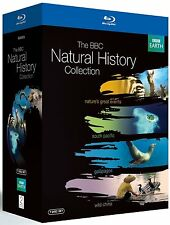 "BBC NATURAL HISTORY COLLECTION BOX SET 7 DISCS BLU RAY REGION B AUS ""NEW&SEALED"""