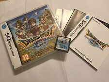 NINTENDO DS DSL DSi GAME DRAGON QUEST IX SENTINELS OF THE STARRY SKIES COMPLETE