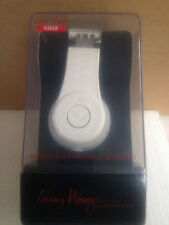NEW Fanny Wang On Ear Wangs 1002 White HD Quality Premium Headphones FW1002 1000