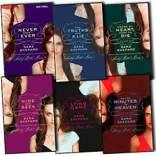 Sara Shepard Lying Game Novels 6 Books Collection Truth and Lie Seven Minutes BN