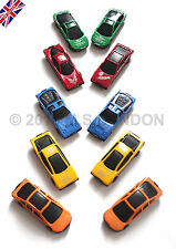 10x Die Cast Car Vehicle  Children Gift Ideal Play Set Cars Kids Boys Toy-NEW-UK
