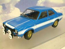 MINICHAMPS 1/18 DIECAST 1970 FORD ESCORT MKI RS1600 FAV BLUE & WHITE 100 688102