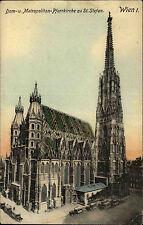 Wien Österreich AK ~1910 Dom Metropolitan Pfarrkirche Sankt Stefan Kathedrale