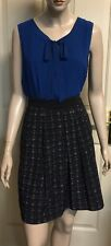 Basque Pleated Skirt Size 10 Not Lined