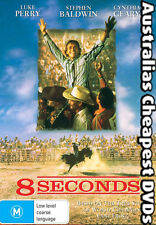 8 Seconds DVD NEW,  FREE POSTAGE  WITHIN AUSTRALIA REGION 1 & 4