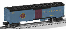 LIONEL 6-36166 THE POLAR EXPRESS WOOD-SIDED REEFER O GAUGE
