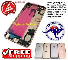 Full Housing Assembly for iPhone 6S Plus Back Battery Door Rear Cover + Flex Cab