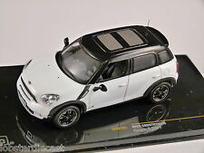 2011 BMW MINI COUNTRYMAN COOPER S in Black White 1/43 scale model by IXO