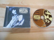 CD Country Waylon Jennings - Ultimate (22 Song) BMG HERITAGE / RCA