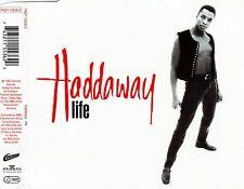 HADDAWAY : LIFE / 3 TRACK-CD (BMG ARIOLA 1993) - NEUWERTIG
