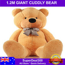 1.2M (120cm) Giant Huge Cuddly Stuffed Plush Teddy Bear Doll