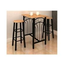 Breakfast Table Bar Kitchen Dining Furniture Stools Counter Height High Chairs