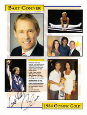 Bart Conner (USA) 2 x Gold OS 1984 Los Angeles Turnen original signiert/signed !