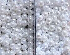 Schraubkugel Piercingkugel Perle Perlmutt Kugel in 2 Größen lieferbar GEWINDE