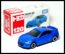 TOMICA #120 SUBARU BRZ 1/60 TOMY BLUE DIECAST CAR 2014 OCT NEW