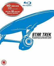 Star Trek: Stardate Collection - The Movies 1-10 Box Set (Remastered) Blu-ray
