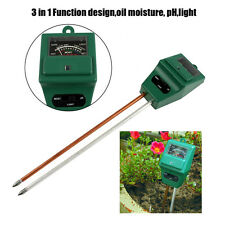 3-in-1 Plant Garden Flowers Soil PH Tester Kits Moisture Light Meter Hydroponics