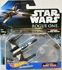 HOT WHEELS STAR WARS PARTISAN X-WING FIGHTER ROGUE ONE STARSHIPS