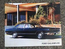 FORD GALAXIE 1969 ''RARE'' AUST RHD SALES BROCHURE. 100% GUARANTEE