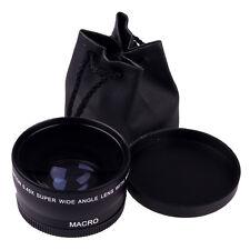 Letzte neuigkeit 58mm 0,45 X Weitwinkel Makro Objektiv Für Canon EOS 450D 500D