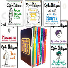 Spike Milligan War Memoirs Collection 7 Books Set Gift Wrapped Slipcase NEW