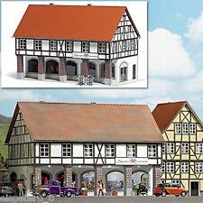 Busch 1539 Haus mit Arkaden, H0 Gebäude Bausatz 1:87