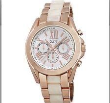 Burgi Women's BUR094RG Analog Display Swiss Quartz Rose Gold Watch