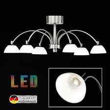 """LED Decken Leuchte Lampe Honsel """"Julie"""" 20026 - mattnickel/chrom - Kronleuchter"""