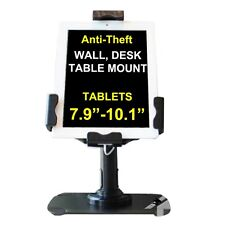 "iPAD 2 3 4 MINI AIR ANTI THEFT COUNTER WALL KIOSK DESK MOUNT TABLET 7.9""-10.1"""