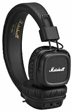 Marshall Major II Bluetooth Wireless Headphone in Black (UK Stock) BRAND NEW