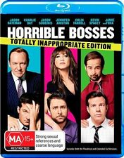 Horrible Bosses ...2 X DISCS - BLU RAY  + DVD DIGITAL COPY...VGC
