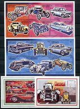GRENADA GRENADINEN 1996 Oldtimer Autos Cars 2301-12 + Bl.360-61 ** MNH