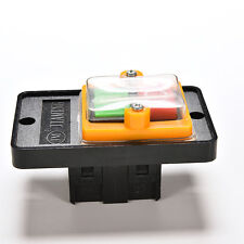 10A 380V KAO-5 Water Proof ON/OFF Button Machine Drill Switch Plastic Motor  ST