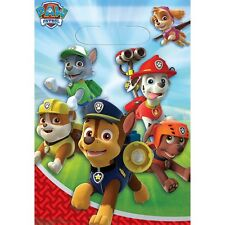 Party Supplies Birthday Decorations Paw Patrol Loot Bags Pack of 8