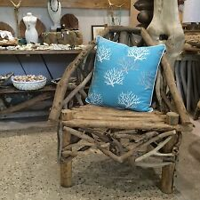 Large Unique Driftwood Beach Chair