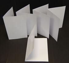 50 A5/A6 Blank Inkjet Matt/Matt Greeting Card Blanks 245gsm Heavy Weight Cards