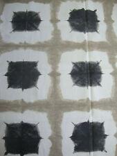 102cm SCION Shoji cotton curtain fabric remnant   biscuit/ebony