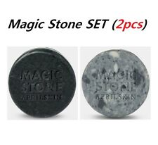 [April Skin] (1+1) Magic Stone + Magic Stone Black Set 100% Natural Soap