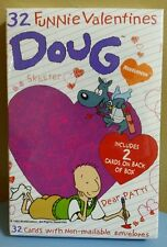 1993 Nickelodeon Doug Funnie 32 Valentines Day Cards NEW SEALED VTG 90s Skeeter