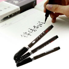 3pcs Calligraphy Chinese Japanese Shodo Brush Ink Pen Writing Painting Drawing