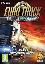 Euro Truck Simulator 2 Gold - PC DVD New & Sealed Disc - FREE & FAST DELIVERY
